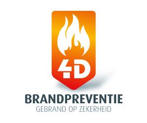 Logo 4D brandpreventie